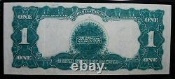 $1 1899 Silver Certificate Black Eagle Pmg Choice Extremely Fine 45 Epq