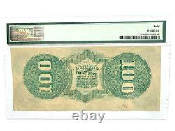 $100 1862 Confederate CSA Note PMG Extremely Fine 40 Beautiful T-49 PF-2