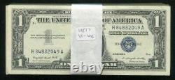 (100) 1957 $1 One Dollar Silver Certificates Extremely Fine Uncirculated (b)
