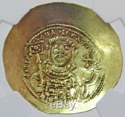 1071-1078 Ad Gold Byzantine Michael VII Av Hist. Nomisma Ngc Extremely Fine 5/2