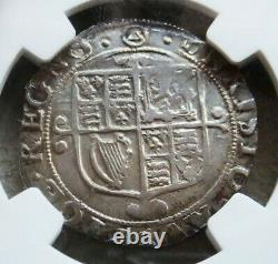 1641-1643 Silver Great Britain Shilling King Charles I Ngc Extremely Fine 45
