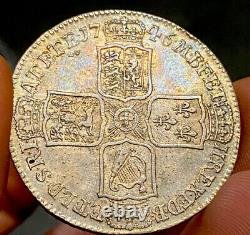 1746 Lima Halfcrown, Extremely Fine Or Slightly Better, Seldom In Higher Grades