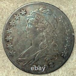 1808 O-109a R3 Capped Bust Half Dollar Extremely Fine to About Uncirculated
