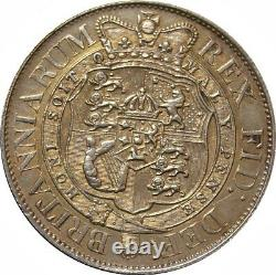 1817 Half-crown, George III. Good Extremely Fine. Spink EF £475, UNC £700