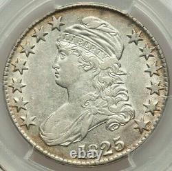 1825 50C Capped Bust Half Dollar PCGS XF 45 Extremely Fine