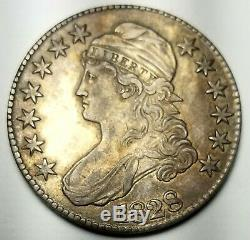 1828 Bust Half Dollar. 892 Silver-xf-extremely Fine Free USA Ship-wow