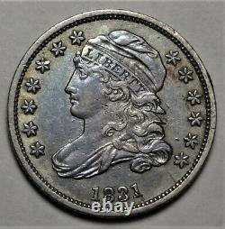 1831 Capped Bust Dime Choice Extremely Fine XF EF Early Silver 10c Type Coin