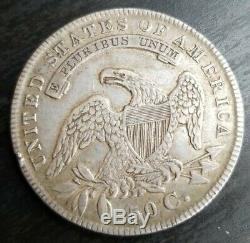 1835 Silver Capped Bust Half Dollar 50c Extremely Fine XF EF o-106