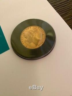 1850-1875 Victoria Young Head Sovereign Shield Back- Extremely Fine C. O. A