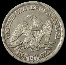 1856 O Silver United States Seated Liberty Half Dollar Extremely Fine