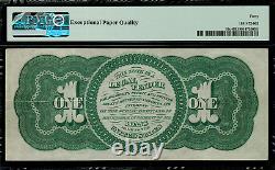 1862 $1 Legal Tender FR-16c Graded PMG 40 EPQ Extremely Fine