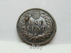 1871 Indian Head Penny Extremely Fine Details #3