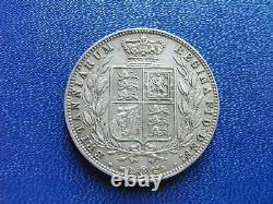 1874 Victoria Silver Halfcrown Extremely Fine