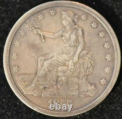 1877-S EXTREMELY FINE U. S. Trade Dollar