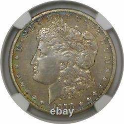 1878 CC $1 Morgan Silver Dollar NGC XF40 Extremely Fine Key Date Coin #002