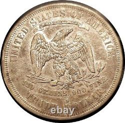 1878-s U. S. Trade Dollar Nice Extremely Fine Lots Of Luster