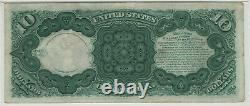 1880 $10 Legal Tender Note Fr. 108 Jackass Pmg Extremely Fine Xf 40 (592)
