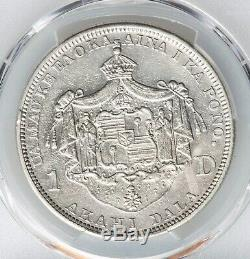 1883 Hawaiian Silver Dollar PCGS XF Details King Kalakaua Hawaii Extremely Fine