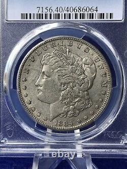 1884-s Morgan Silver Dollar $1 Tougher Coin Pcgs Xf40 Extremely Fine
