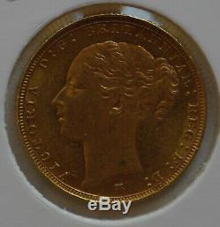 1885M Sovereign St. George Reverse Extreme Fine