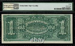 1886 $1 Silver Certificate FR-217 Martha Graded PMG 40 EPQ Extremely Fine