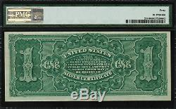 1886 $1 Silver Certificate FR-218 Martha Graded PMG 40 Extremely Fine