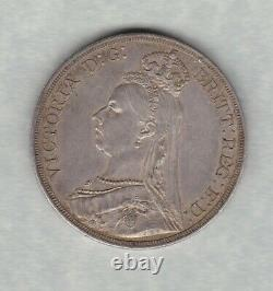 1887 Victoria Jubilee Head Crown In Extremely Fine Condition
