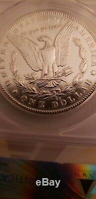 1889 CC $1 ANACS EF 45 Details (Extremely Fine XF) Morgan Silver Dollar Coin KEY