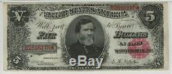 1891 $5 Treasury Note Currency Fr. 362 Pmg Certified Extremely Fine Xf 40 (115)