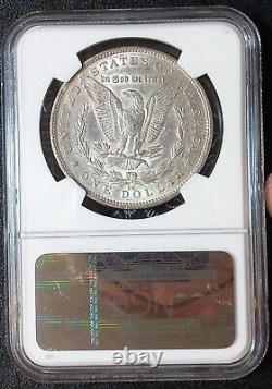 1891-CC NGC XF45 Carson City Morgan Silver Dollar Extremely Fine 45