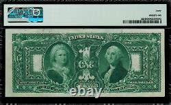 1896 $1 Silver Certificate FR-225 Educational Graded PMG 40 Extremely Fine