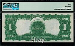 1899 $1 Silver Certificate FR-233 Black Eagle Graded PMG 40 Extremely Fine