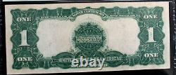 1899 $1 Silver Certificate FR-235M MULE PMG 40 EXTREMELY FINE PACK FRESH