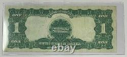1899 One Dollar Black Eagle Silver Certificate Extremely Fine