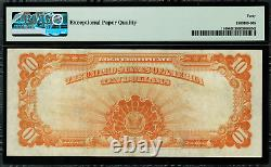 1907 $10 Gold Certificate FR-1169 Graded PMG 40 EPQ Extremely Fine