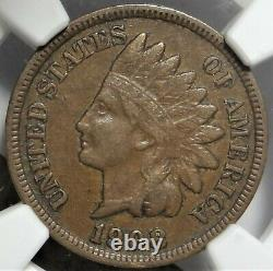 1908-S 1c NGC XF 40 Extremely Fine EF San Francisco Mint Indian Head Cent Coin