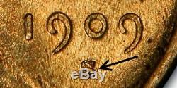 1909-S/S Lincoln Cent, S Over Horizontal S, RPM, Choice Extremely Fine 0401-01