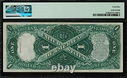 1917 $1 Legal Tender FR-37 Sawhorse Graded PMG 45 Choice Extremely Fine
