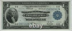1918 $1 Federal Reserve Banknote Philadelphia Fr. 717 Pmg Extremely Fine Xf Ef 40