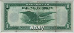 1918 $1 Federal Reserve Banknote St. Lous Fr. 730 Pmg Extremely Fine Xf Ef 40