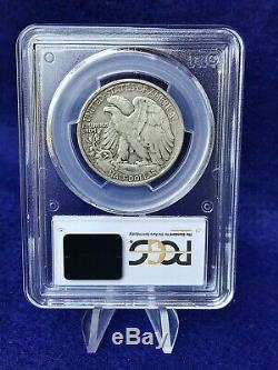 1920-S WALKING LIBERTY SILVER HALF DOLLAR 50c PCGS XF40 EXTREMELY FINE