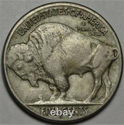 1923-S Buffalo Nickel Choice Extremely Fine EF XF San Francisco Mint 5c Coin