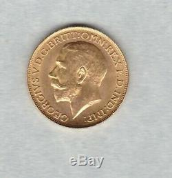 1925 George V Gold Sovereign In Good Extremely Fine Condition