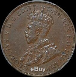 1925 Penny Extremely Fine PCGS AU53BN