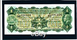1927 Australian One Pound Note Kell / Heathershaw EF (extremely fine)