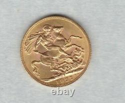 1927sa South Africa Mint Mark Gold Sovereign In Good Extremely Fine Condition