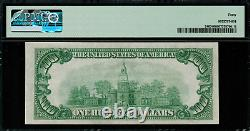 1928 $100 Gold Certificate FR-2405 Graded PMG 40 Extremely Fine