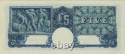1939 Five Pound Sheehan/McFarlane R45 Extremely Fine