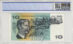 1966 Coombs/Wilson $10 STAR Banknote PCGS 40 Extremely Fine