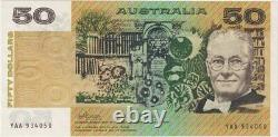1974 $50 Note YAA First Prefix Phillips/Wheeler R505F Extremely Fine